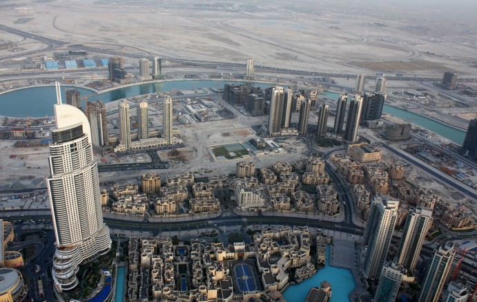 Бурдж-Халифа самое высокое здание