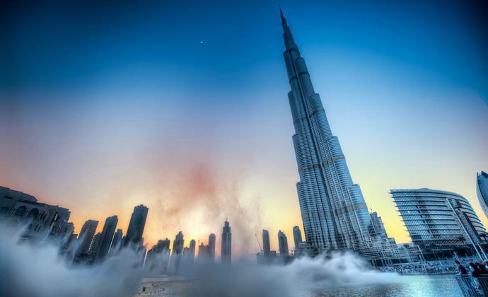 Бурдж-Халифа самое высокое здание (30 фото)