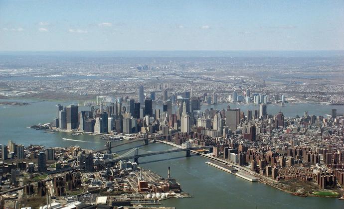 Город Нью-Йорк в фотографиях