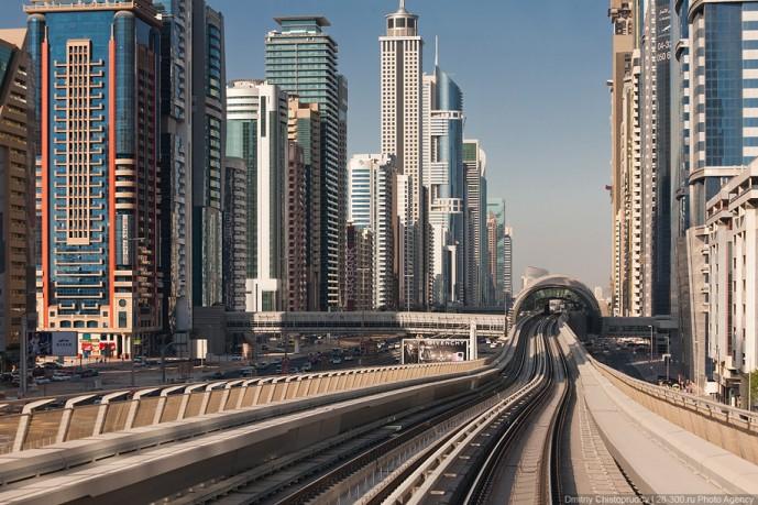Метрополитен в Дубаи