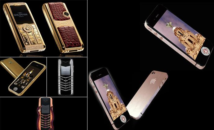 Самые дорогие и крутые мобильные телефоны в мире