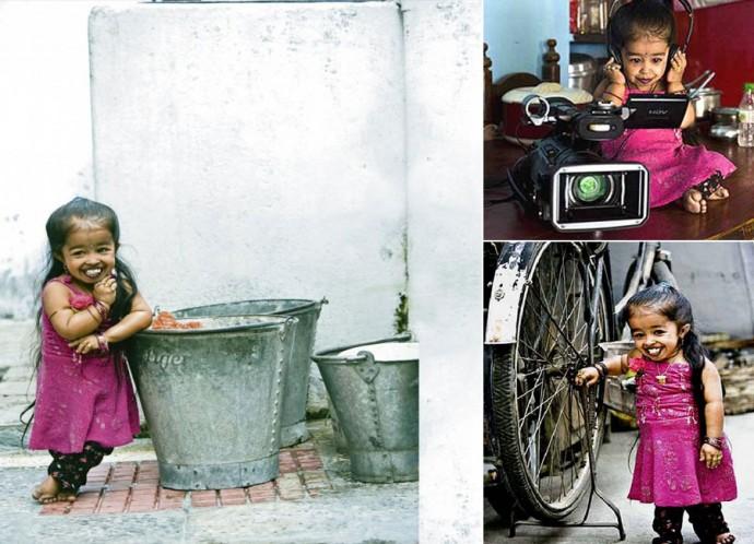 Самая маленькая в мире женщина