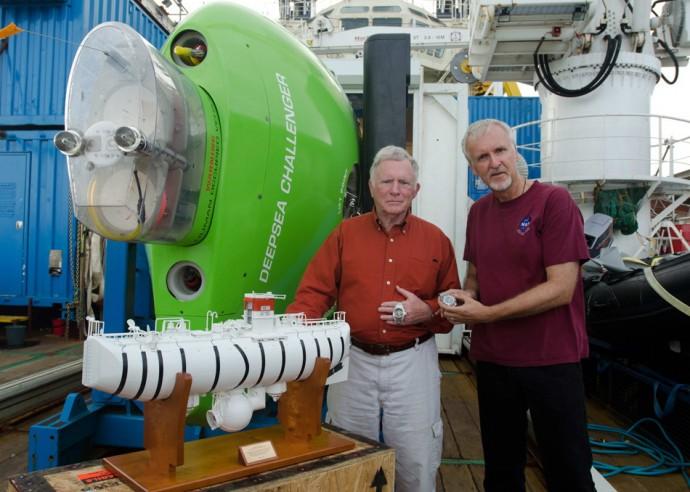 "фото ""Батискаф Deepsea Challenger перед погружением"""