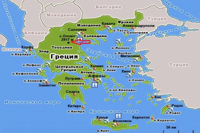 Высочайшая гора Греции