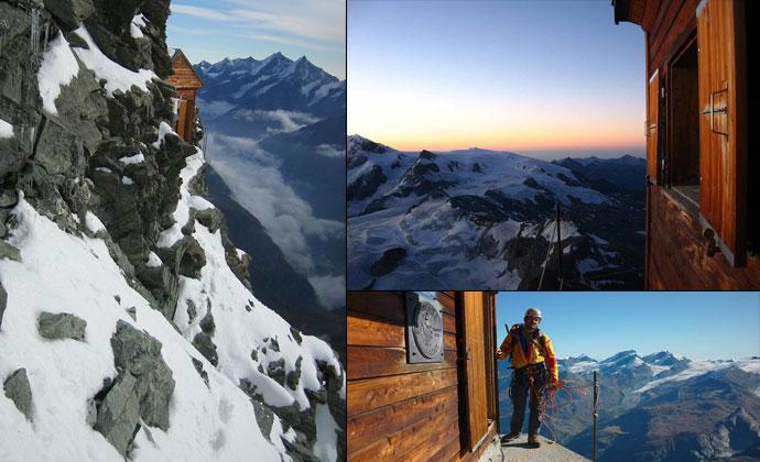 Хижина в горах (10 фото)