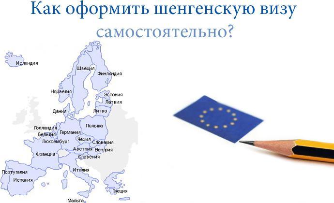 как самостоятельно открыть шенгенскую визу