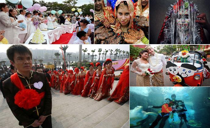 Свадьбы в разных странах мира (12 фото)