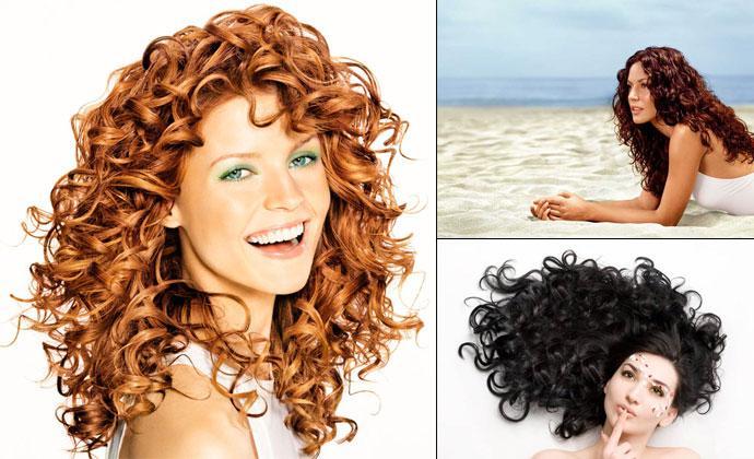 Как ухаживать за волосами после химической завивки?