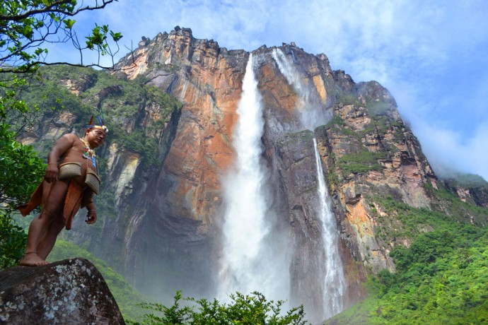 Список самых высоких водопадов мира