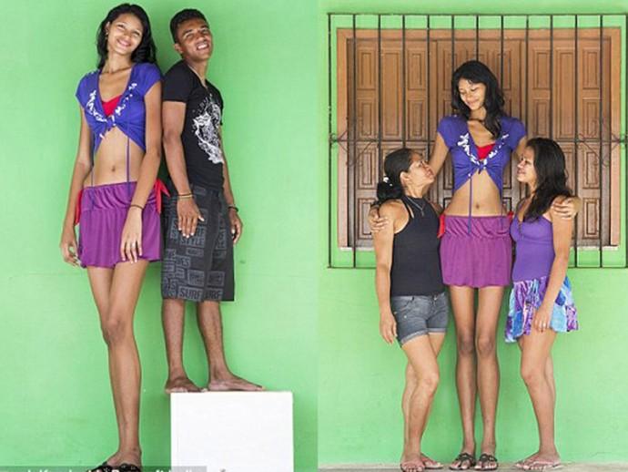 Самая высокая девушка мира