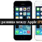 разница между iphone5 и iphone 5s