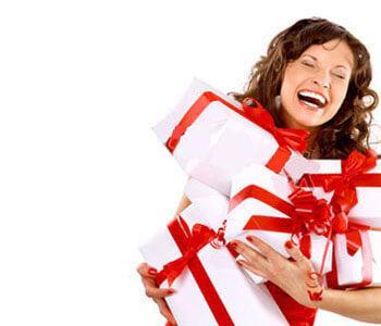 подарки женщинам до 25 лет