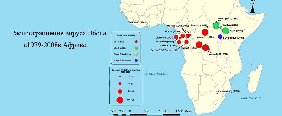вспышки Эбола