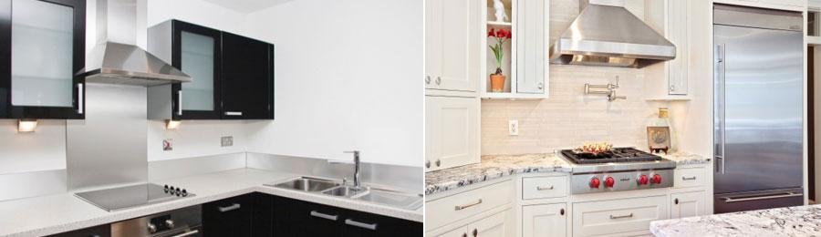 Виды и типы кухонных вытяжек