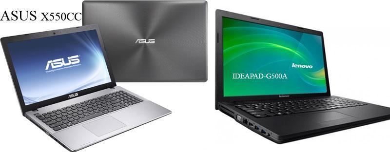 Lenovo-IDEAPAD-G500A и ASUS-X550CC