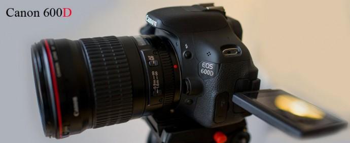 недорогой зеркальный фотоаппарат canon 600d