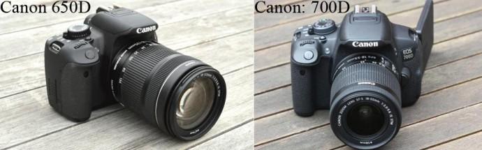 canon 650d и 700d