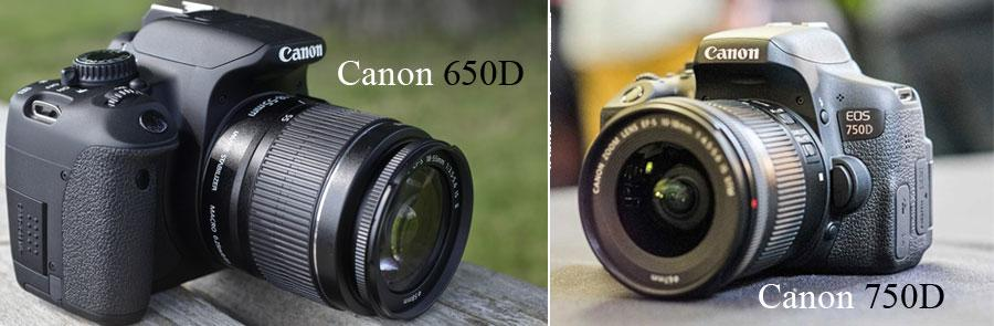 canon 650d и 750d