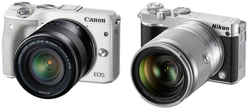 беззеркальные фотокамеры