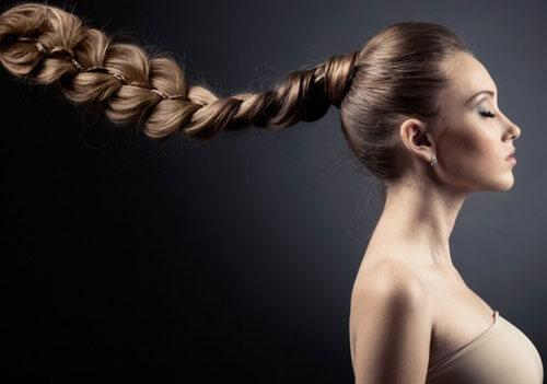 волосы после применения льняного масла