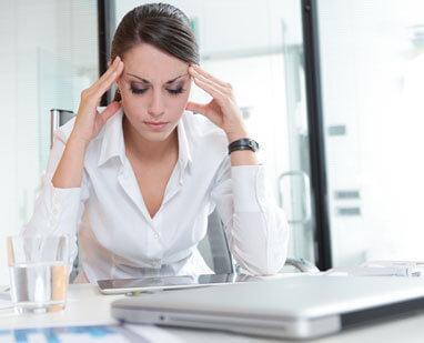 У девушки возникли симптомы стресса