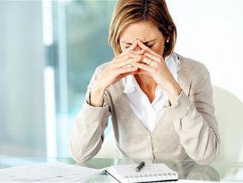 У женщин появились первые симптомы депрессии
