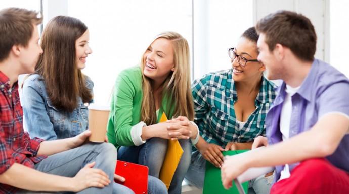 общение поможет снять стресс