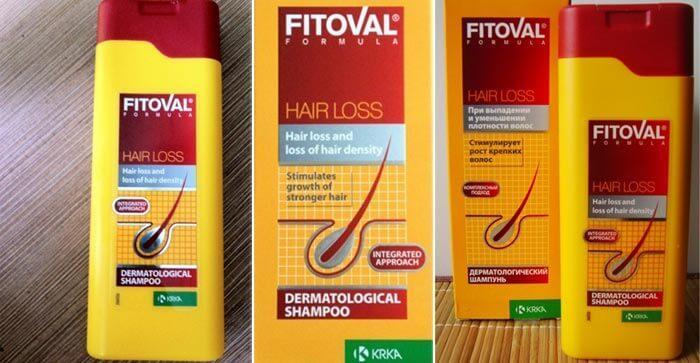 шампунь от выпадения волос Фитовал