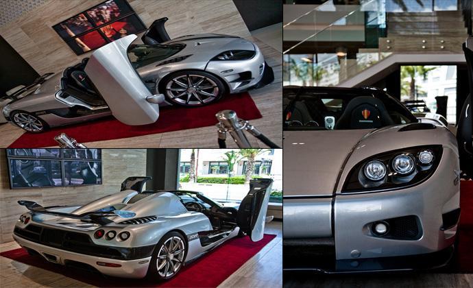 самая дорогая машина в мире Koenigsegg Trevita