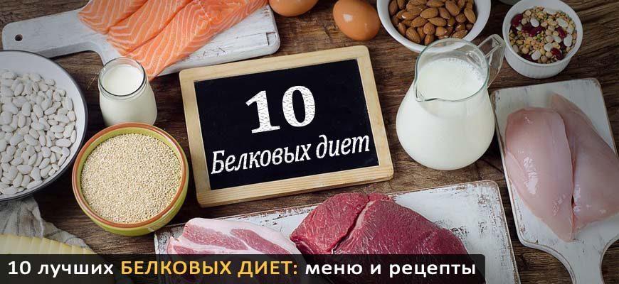 10 белковых диет