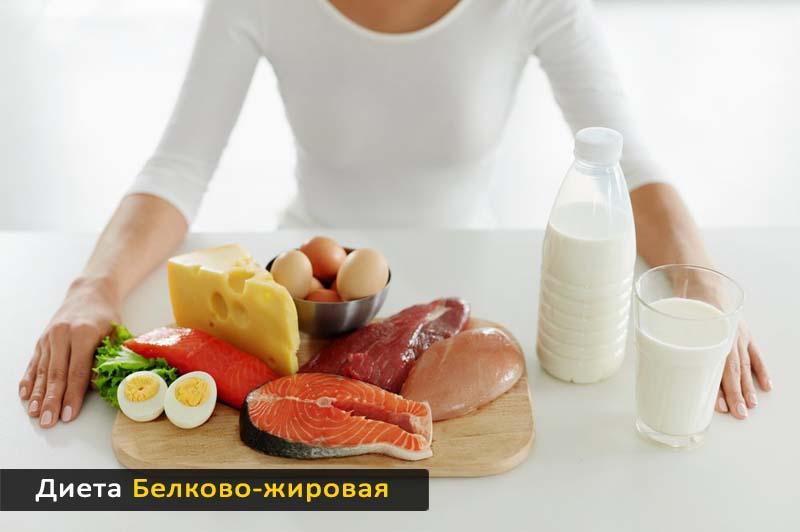 Белково-жировая диета
